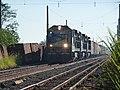 Locomotiva de comboio que passava sentido Guaianã pelo pátio da Estação Pimenta em Indaiatuba - Variante Boa Vista-Guaianã km 217 - panoramio (2).jpg