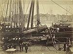 Locomotive arriving by ship, 1876 (4174797371).jpg