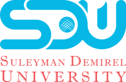 Logo of Suleymen Demirel University, Kazakhstan.png