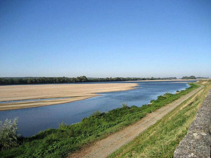 Loire near Saint-Mathurin-sur-Loire