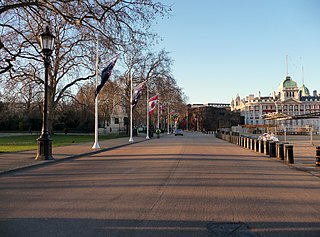 road in the City of Westminster, London