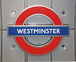Modern version of London Underground Roundel