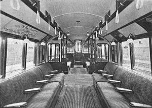 London Underground Standard Stock - Image: London Underground tube coach (CJ Allen, Steel Highway, 1928)