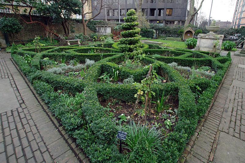 File:London garden museum -14 Knot Garden.JPG