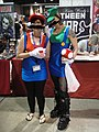 Long Beach Comic & Horror Con 2011 - female Mario and Luigi (6301176293).jpg