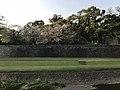 Long Wall of Kumamoto Castle across Tsuboigawa River.jpg