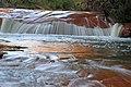 Long exposure of a small falls near Douglas Falls, WV (5516704140).jpg