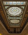 Long view of stained glass ceiling, Baltimore Penn Station.jpg