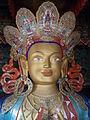 Lord Buddha at Thiksey Monastry,leh.JPG