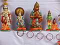 Lord Hanuman in his various forms.JPG