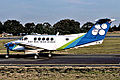 Lord Howe Island Airlines Beech 200 Super King Air at Sydney Airport.jpg