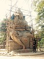 Lord Shiva Statue at Nunthar.jpg