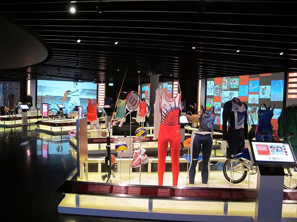 Losanna, museo olimpico, int, sala 04