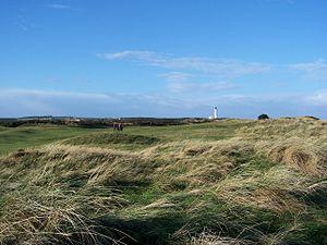 Moray Golf Club - Image: Lossie golf course