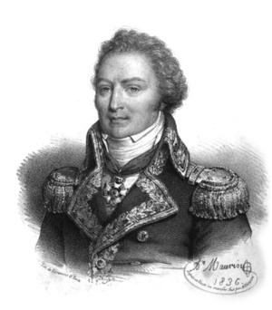 Louis-René Levassor de Latouche Tréville - Portrait of Latouche-Tréville, by Antoine Maurin