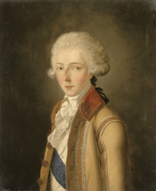 Louis Antoine de Bourbon, Duke of Enghien by Nanine Vallain.png