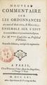 Louis XIV, Jousse Daniel - Nouveau commentaire sur l'acte royal touchant les épices, 1669-1673.png