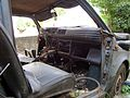 """Lublin - zdelezowany """"Maluch"""" Fiat 126p (06) - DSC00410 v1.jpg"""