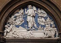 Luca della Robbia, resurrezione, 1440.JPG