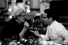 J. J. Abrams insieme a George Lucas (2007)