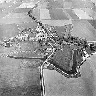Oudeschans - Image: Luchtfoto's Oudeschans 20179327 RCE