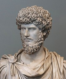 Bust of Marcus Aurelius' co-ruler Lucius Verus