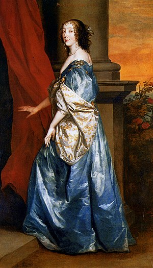 Lady of the Bedchamber - Lucy Hay, Countess of Carlisle, Lady of the Bedchamber to queen Henrietta Maria.