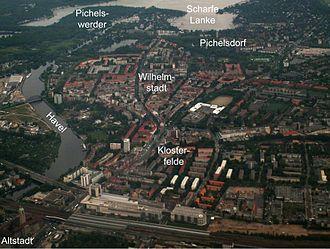 Wilhelmstadt - Aerial view