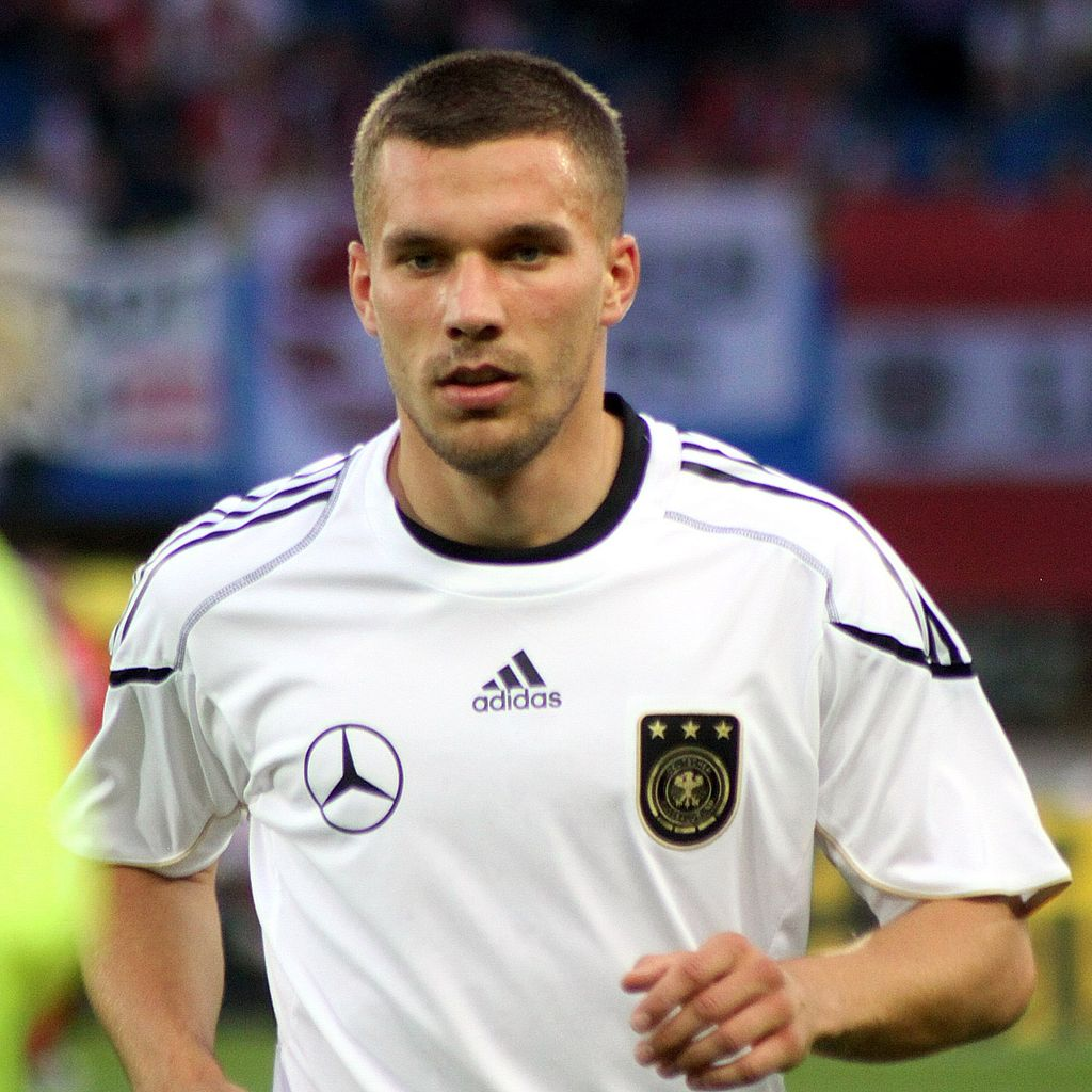 Lukas Podolski, German forward