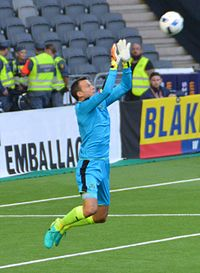 Luke Steele, Goalkeeper, Panathinaikos F. C.jpg