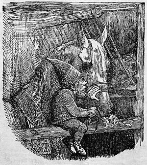 Danish folklore - Johan Thomas Lundbye: Nisse (1842)