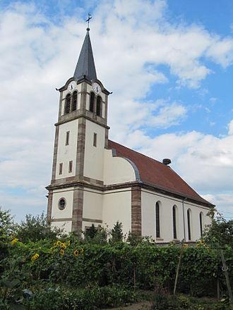 Lupstein - Image: Lupstein, église Saint Quentin