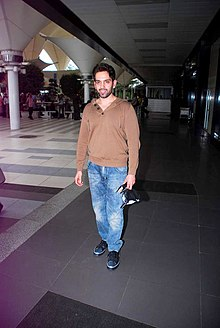 Luv Sinha returns from IIFA 2012 11.jpg