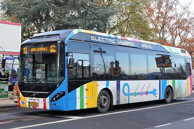 Bus hybride - Écologie - Électricité - Transports en commun - Déplacement - SchoolMouv - Géographie - CM1
