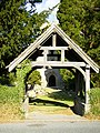Lych gate at Aymestrey Parish Church - geograph.org.uk - 219791.jpg