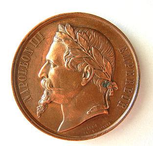 médaille photo gravée