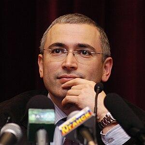 Mikhail Khodorkovsky - Mikhail Khodorkovsky in 2001