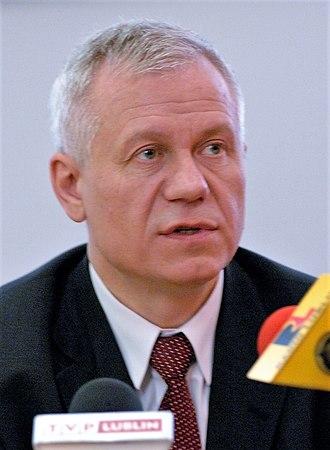 Polish presidential election, 2010 - Image: M. Jurek