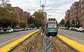 MBTA 3884 at South Street, October 2016.JPG