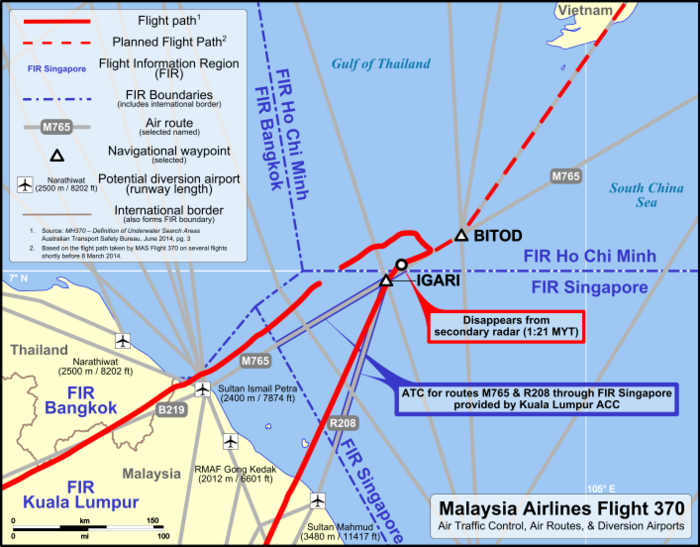 Malaysia-Airlines-Flug 370 - Wikiwand