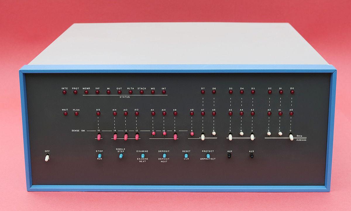 Altair 8800 - Wikipedia, la enciclopedia libre