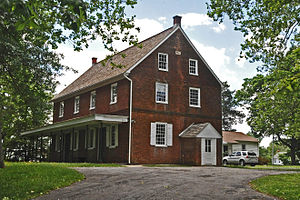 Harrison Township, New Jersey - Friends Meetinghouse, Mullica Hill