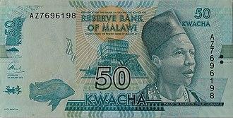 Malawian kwacha - Image: MWK0050v