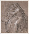 Madonna and Child (recto); Head and Bust of Saint John the Evangelist (verso) MET DP810965.jpg