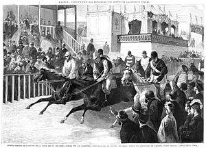 Hipódromo de la Castellana - Image: Madrid Inauguración del Hipódromo con motivo de las fiestas reales