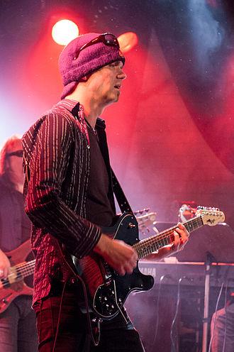 Mads Eriksen (musician) - Eriksen and Frank Hovland at Rootsfestivalen in Brønnøysund 2008.