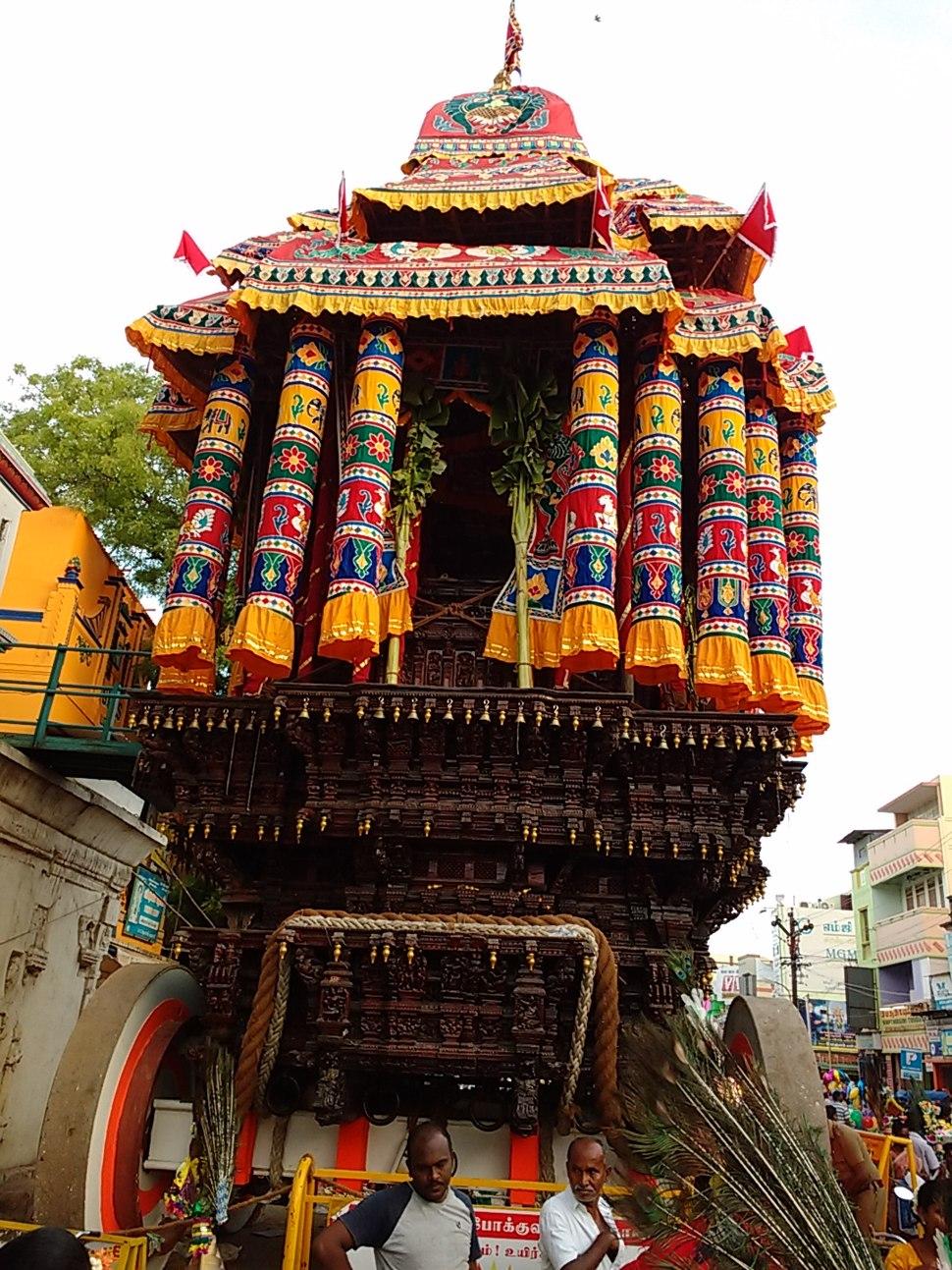 Madurai Car Festival 1