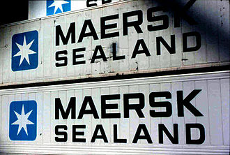 History of Maersk - Mærsk Sealand 40' Containers