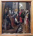 Maestro della leggenda di sant'orsola di colonia, re pagani che chiedono sant'rosola in sposa, 1490-1500 ca..JPG