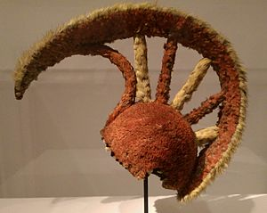 Robert Gray (sea captain) - A royal Hawaiian Mahiole, or feathered helmet, collected by Gray in 1789